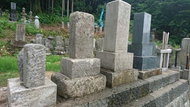a 03 02 - 【郡山市 A様家】お墓のあく洗い・クリーニング